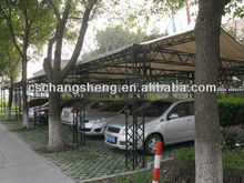 Aluminum outdoor car garage,Aluminum outdoor mobile car and bicycle library