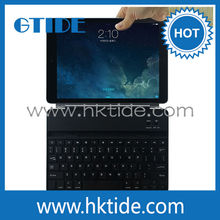 Gtide KB658 design for apple ipad air aluminum metal cover bluetooth keyboard new product 2014 innovation