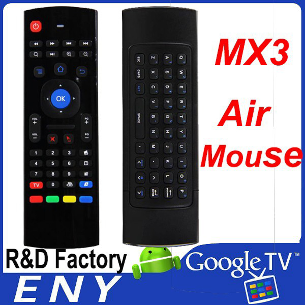 arabic iptv mx3 trade MX3 2.4g air mouse for android tv box remote controller MX3 bluetooth air mouse
