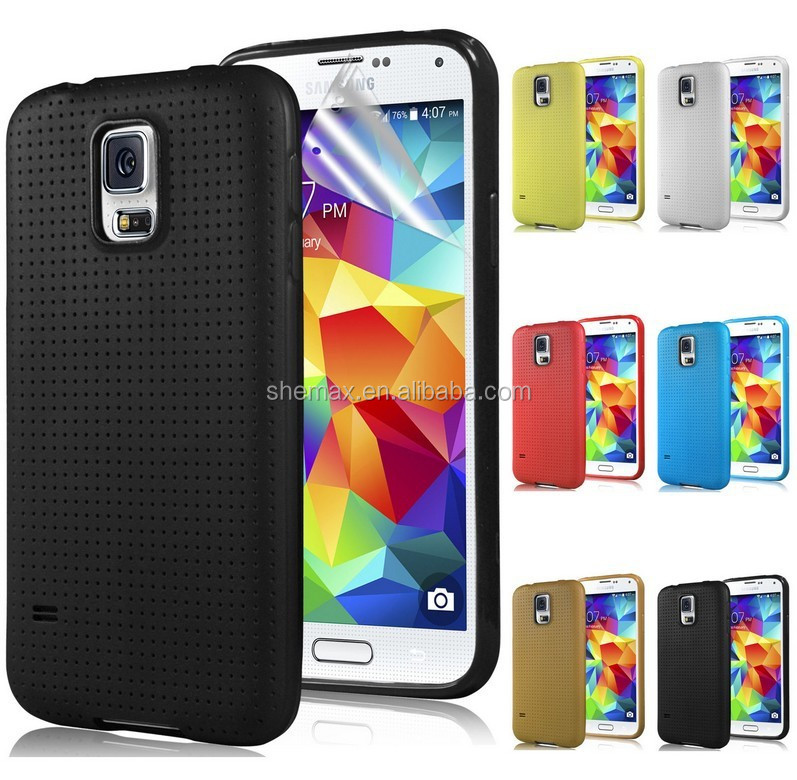 Slim Fit Soft Gel TPU Case For Samsung Galaxy S5 TPU Case Skin Cover