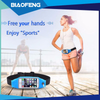 High quality universal running pocket waterproof neoprene waist bag for mobile phone