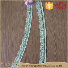China market wholesale stretch nylon spandex different types of lace trim