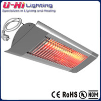 5000hrs Infrared Electric Heater Wall Mounted Quartz Heater