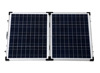 100W Polycrystalline Foldable Solar Panel with Adjustable Bracket 12V Folding Solar Modules
