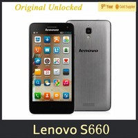"Original Lenovo S660 S668t 4.7"" IPS QHD Screen MTK6582 Quad Core 1G Ram 8GB Rom Android 4.2 WCMDA Dual Sim GPS 8.0MP 3000mAh"