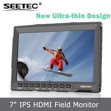 7-Inch 3G-SDI LCD Monitor with IPS Panel Peaking Focus Assist & Exposure ST699