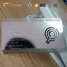 Cheap Price Corrosion Etch Metal Business Cards
