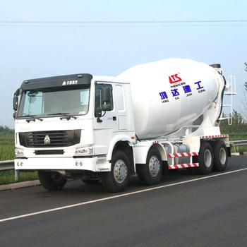 HONGDA Truck mounted Concrete Mixer 12m3 HOWO Chassis