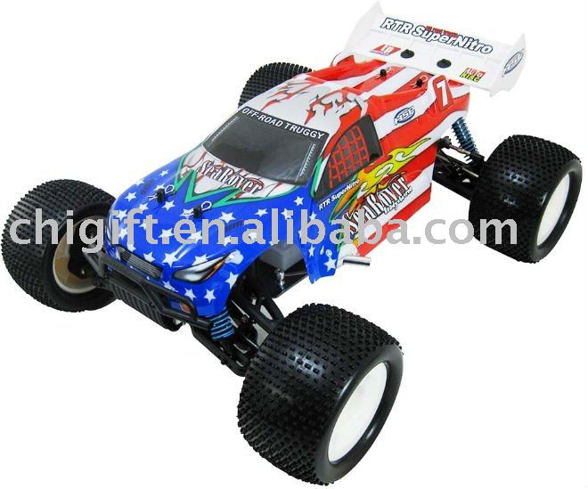 1/8 RC CAR NITRO GAS 4WD PRO TRUGGY