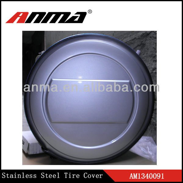 Custom ABS spare wheel covers/tire covers for car/spare wheel parts/ universal tyoe