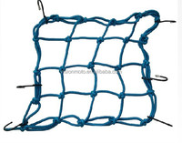 MOTORCYCLE HIGH QUALITY CARGO NET BLUE color 40*40CM SIZE