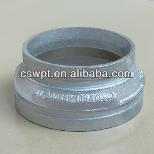Galvanized con. Reducer Grooved (FM/UL certificate)