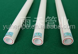 Plastic Popular PPR Pipe Size PN20 for Hot Water