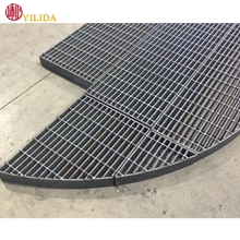 abnormal shape steel grating/Heavy Duty Metal Grating Floors For Pedal