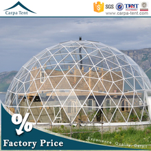 2016 Newest Design Outdoor Geodesic Dome /Outdoor Big Dome Tent Wholesale