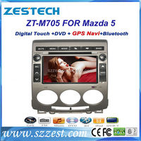 ZESTECH auto electronics 2 din car dvd gps for Mazda 5