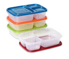Premium Eco Friendly 3Compartment Bento Lunch Box Containers for Kids