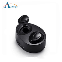 Wireless Earbuds,Truly Wireless Headphones with Charging Box Noise Cancelling Sweatproof wireless Earphones