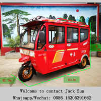 New Gasoline 150cc 200cc / Petrol / Electric Tricycle for Passenger,Auto Rickshaw Price, tuk tuk bajaj motorcycle6 Passenger Gas