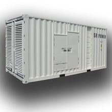 50HZ container type 3Phase 1500kva 1200kw electric diesel generator set