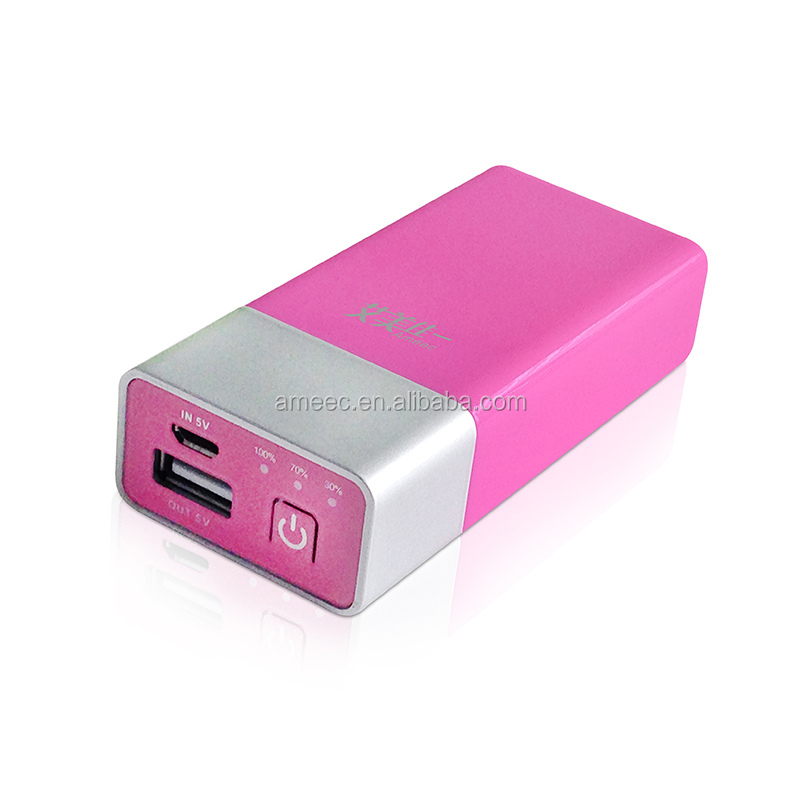 hot sale 4000mah lipstick Lithium polymer mobile phone battery charger,OEM power banks,mobile power supply