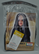 PW0264 NEWLOOK 100% Hot Pick for Magic Women Party Cosplay Carnival silky straight Sexy Beauty black Synthetic Wig