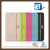 New design PU leather mobile phone wallet leather case for iPhone 6S