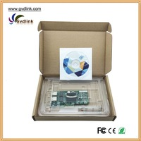 Compatible Intel Pro/1000 Dual PORT GIGABIT ETHERNET PCIe NIC Card EXPI9402PT NC360T 39Y6126 5767