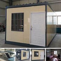 Portable camping cabins mobile prefabricated residential houses supplied by manufacturer