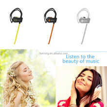 Bluetooth Earphone Waterproof headset bluetooth 4.1 Headphone with CE ROHS FCC Certification Hands-free sport ear hooks