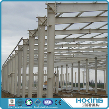 Popular Designed Galvanized Steel Frame Warehouse Building Projects