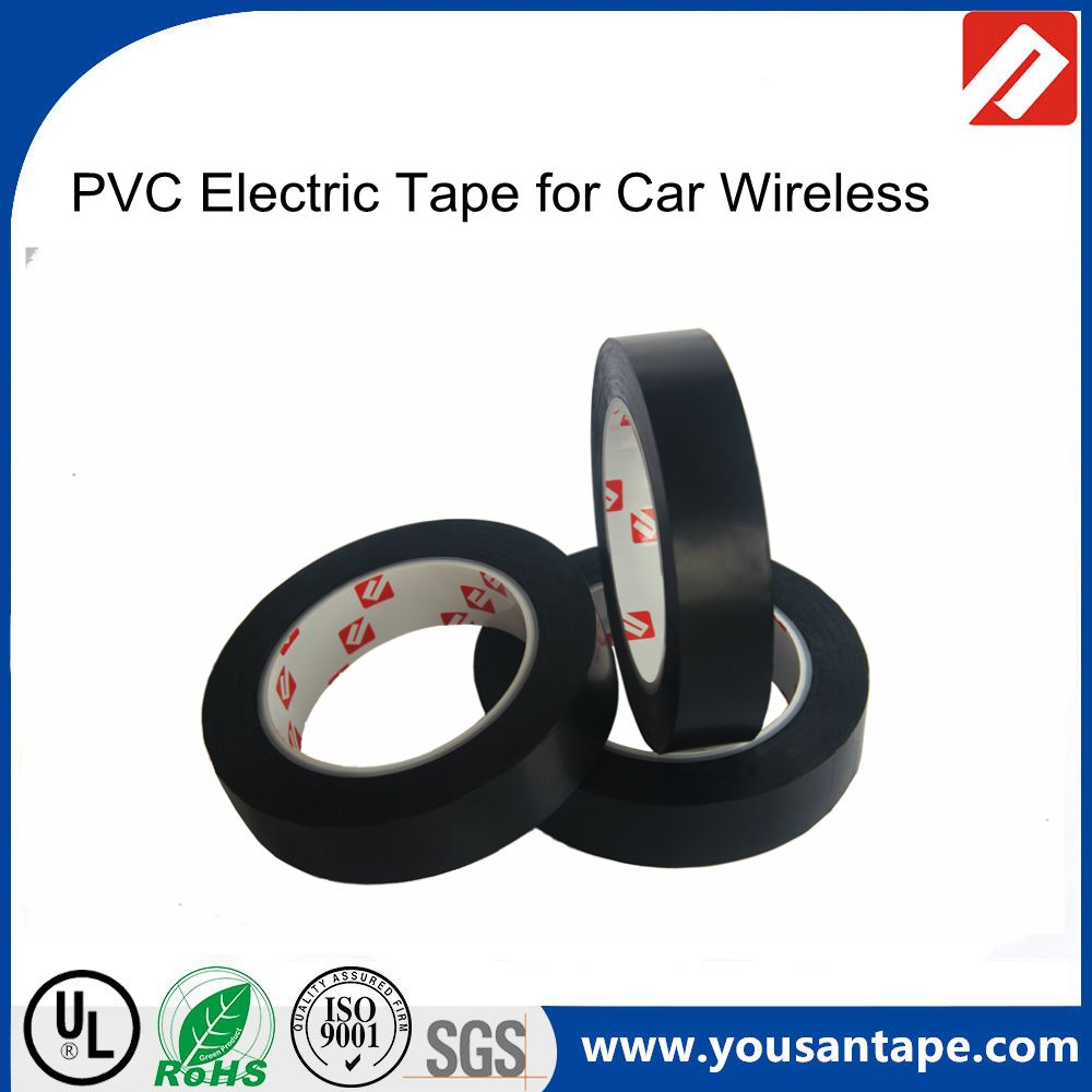 High quality Environmentally lead-free flame retardant insulation PVC Electric tape for car wireless ,cables
