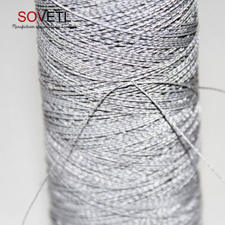 polyester filament sewing thread OEM reflective thread for embroidery