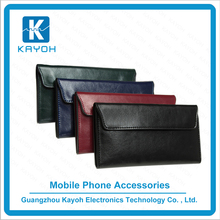 [kayoh]Leather handmade Wallets Womens Unisex leather phone cases