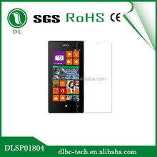 Factory price premium tempered glass screen guard anti scratch screen protector for nokia lumia 520, 525