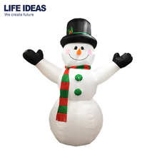 10ft/300cm High Quality Christmas Giant Outdoor Inflatable Snowman airblown Yard Decoration