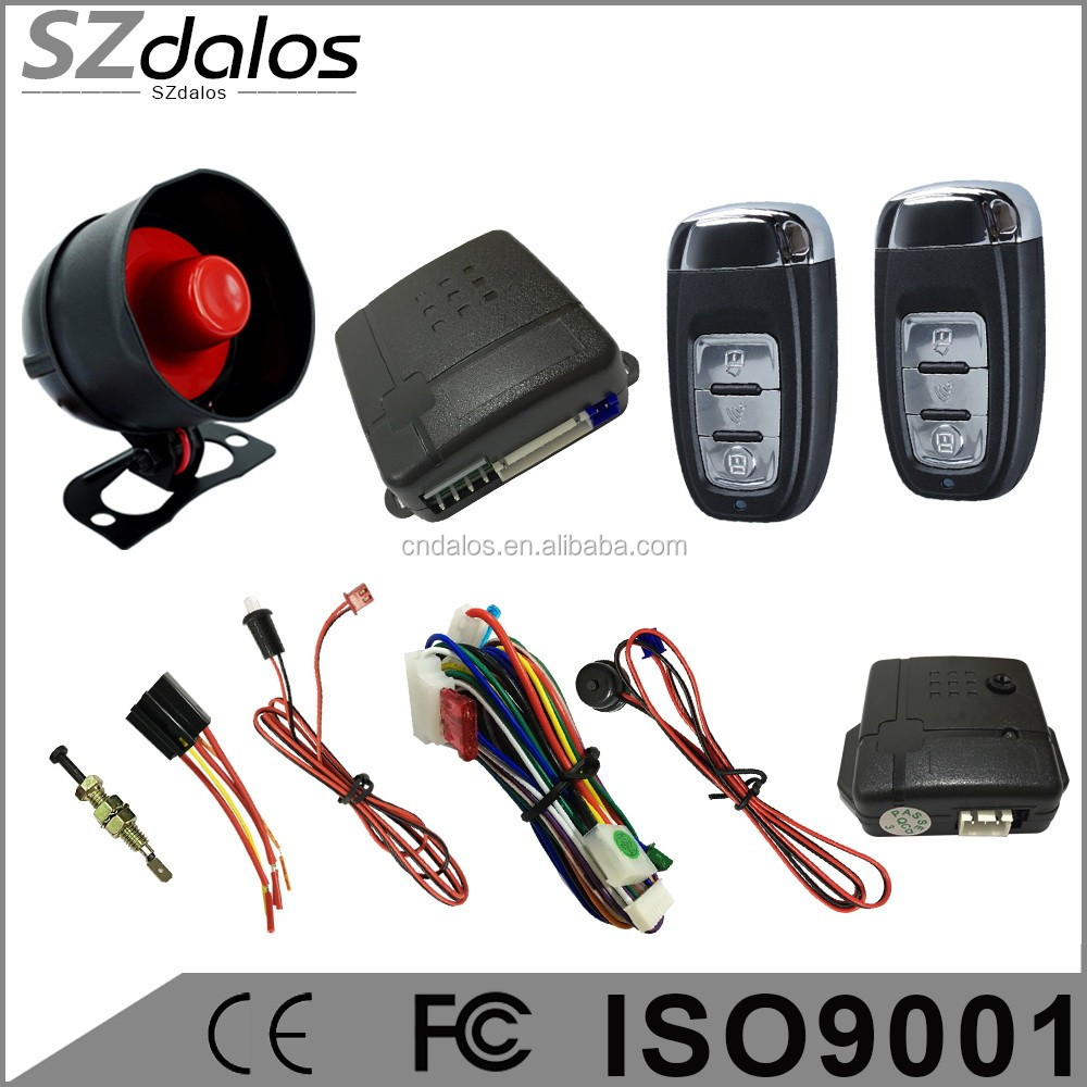 China wholesale Keyless smart car alarm systems with 100% Copy genius alarma, Nemesis alarma, Hot sell in south america