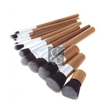 2016 Bravo 11pcsContour kit Professional Cosmetics Bobi Brush Sets Toiletry Brown Kit for Make Up Maquiagem de cepillo de maquil