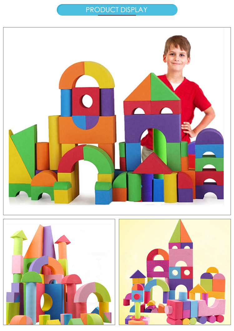 Wholesale children's large foam for toddlers giant foam building blocks for kids