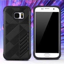 Full covered shockproof TPU PC phone case for Samsung galaxy S7