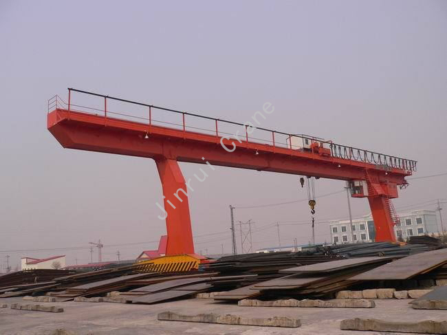 Inspection Services Single Girder Launcher Gantry Crane