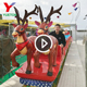 Amusement Park Games Kiddie Rides Children Attractions Electric Christmas Track Train Ride