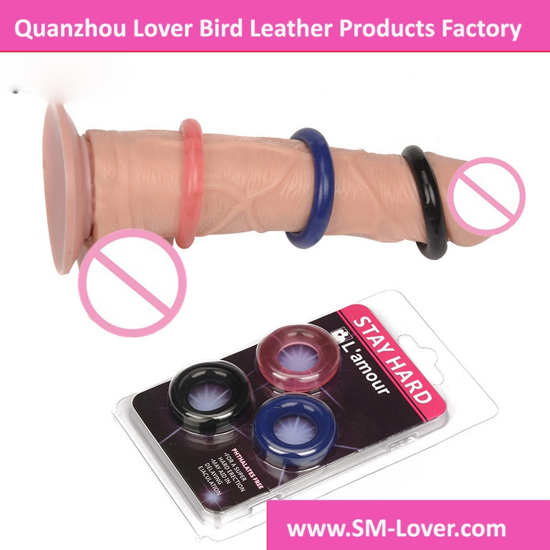 Delay Lock Fine Silicone Cock Ring Penis Ring Male Cockring Ball Stretcher Erotic Toys Sexy Shop Sex Toys For Men Sex Products