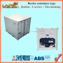 Non - used with CSC certified 10 ft refrigerator shipping container