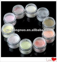 10 Color 2g Professional Nail Art Manicure Tip EXtension Glitter Acrylic Powder HN1290