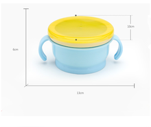 YDS New Design Silicone Baby Feeding Bowl For Food&Snack Toddlers Non-spill Baby Food Cup