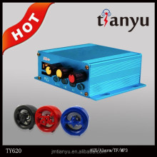 power amplifier blue color motorcycle