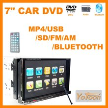 <strong>Car</strong> <strong>DVD</strong> / 7 inch Player + BLUETOOTH /<strong>DVD</strong>/VCD/SVCD/WMA/MP4/JPEG