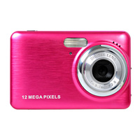 12MP digital video camera 5.0 cmos sensor 4 x digital zoom 2.7'' tft display rechargeable lithium battery WINAIT Camera