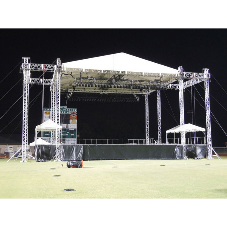 Oudoor Event Aluminum Stage Roof Truss With Canopy